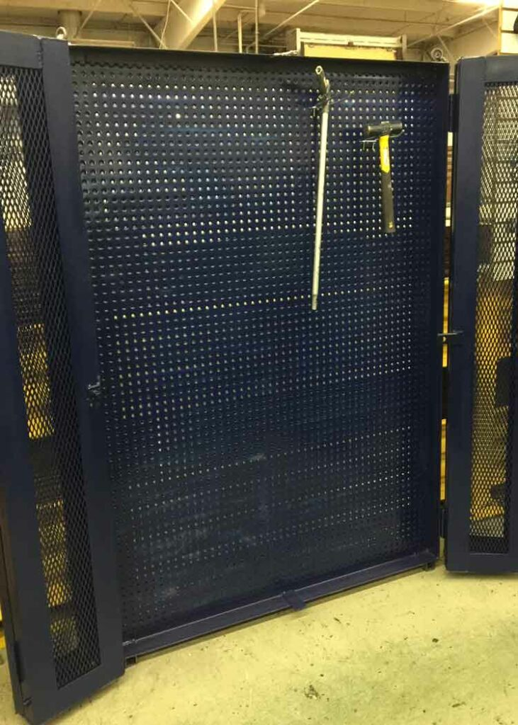 Custom Fabrication 5S tool cage