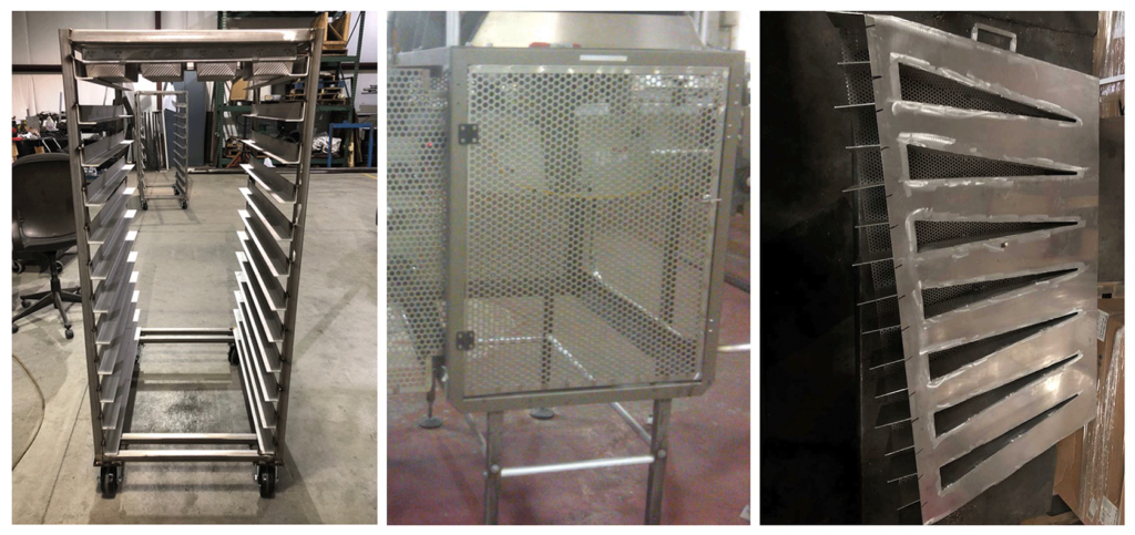 Custom fabricated Food service equipment for restaurant