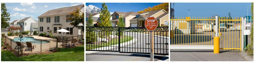 Residential and commercial metal gate repair and fabrication